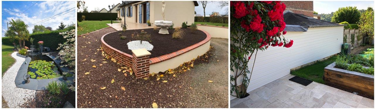 aménagement paysager, jardinier, création de jardins, calvados, normandie