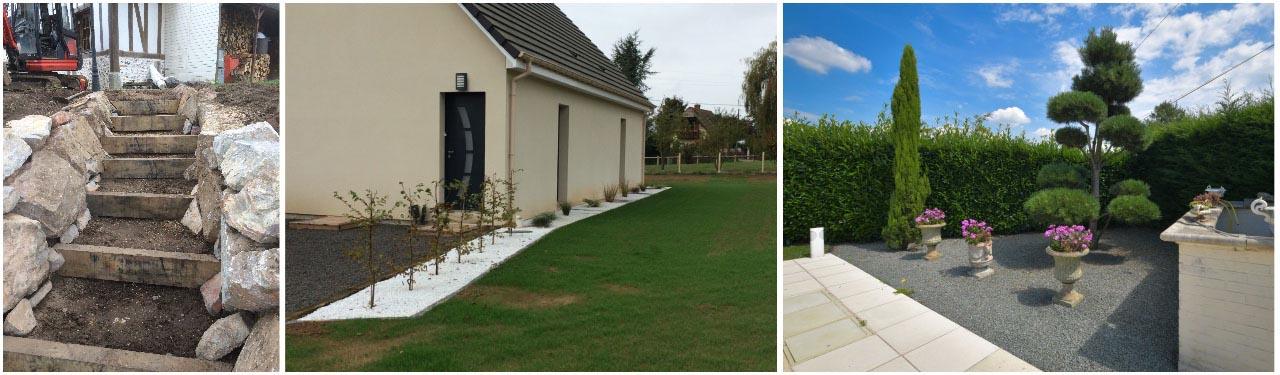 aménagement paysager, jardin, créateur de jardins, eure, bernay, thiberville, normandie
