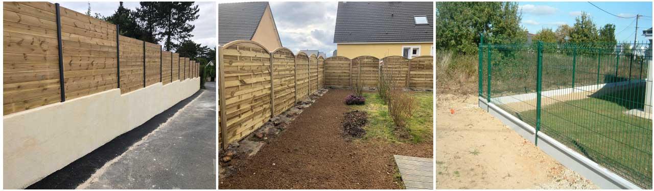 clôtures, jardinier, calvados, normandie