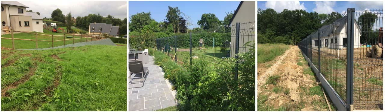 clôtures, jardin, bernay, eure, thiberville, normandie