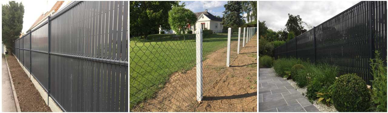 clôtures de jardins, bois alu, jardinier, création de jardins, calvados, normandie