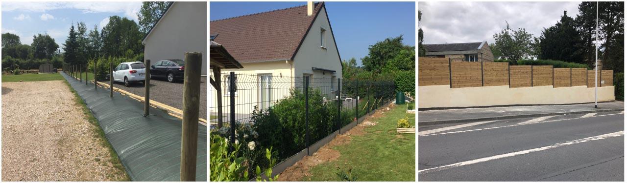 clôtures, jardins, lisieux, calvados, eure, bernay, thiberville, normandie
